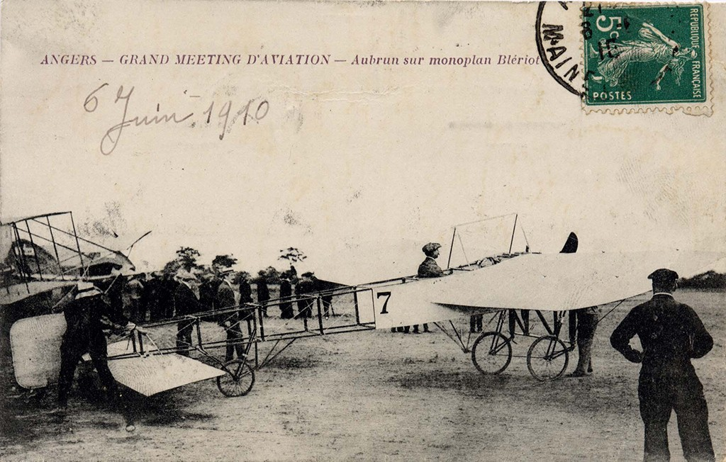 1910, Grand Meeting d'aviation - Angers