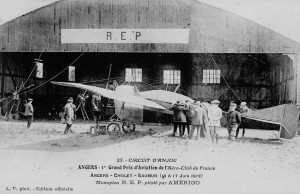 1912 - 1er grand prix d'aviation de l'aéro-club de France - Angers