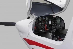 DA40 - Vue du cockpit
