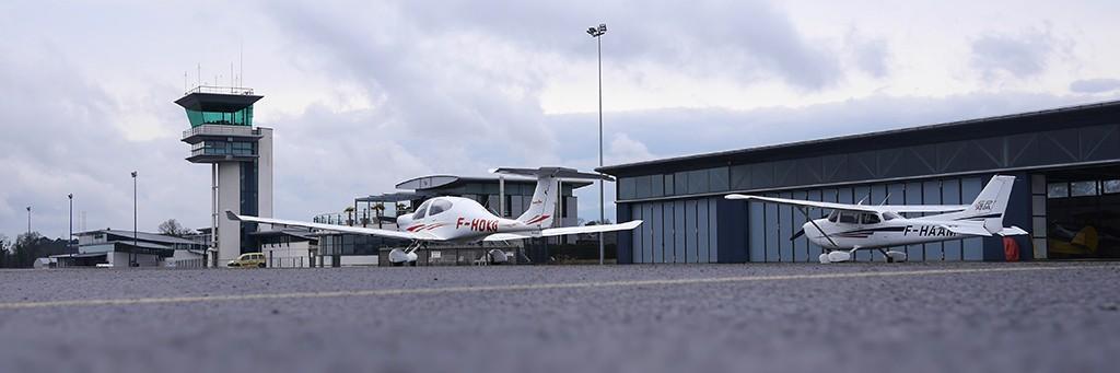 Contact et accès - Aéroclub Angers Marcé