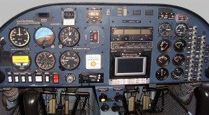 Diamond DA20 - Vue du Cockpit