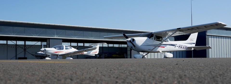 Hangar - Aéroclub Angers Marcé