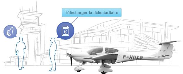 Tarifs - Aéroclub Angers Marcé